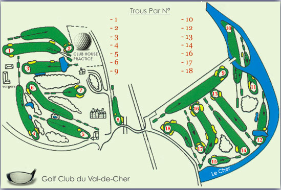 Photo du Golf du Val de Cher