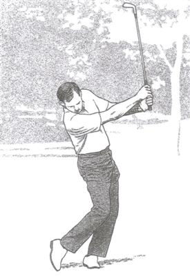 Le Follow-Through du swing au golf